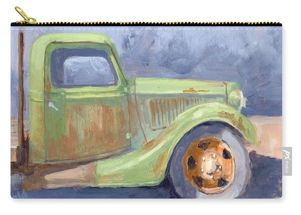 Old Green Ford Carry-all Pouch