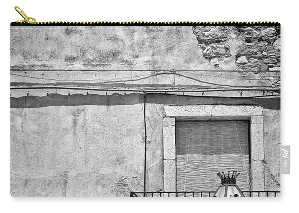 Old House In Taormina Sicily Carry-all Pouch