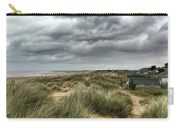 Old Hunstanton Beach, North #norfolk Carry-all Pouch