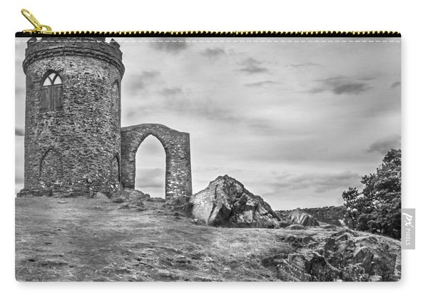 Carry-all Pouch featuring the photograph Old John Folly by Nick Bywater