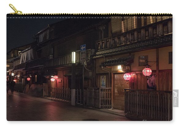 Old Kyoto Lanterns, Gion Japan Carry-all Pouch