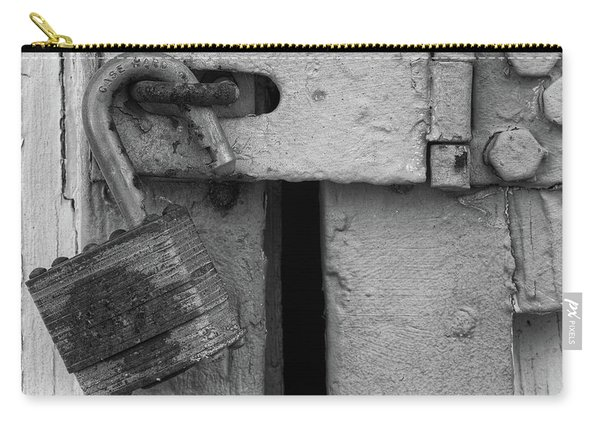 Old Lock And Latch Carry-all Pouch