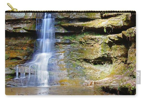 Old Man's Cave Waterfall Carry-all Pouch