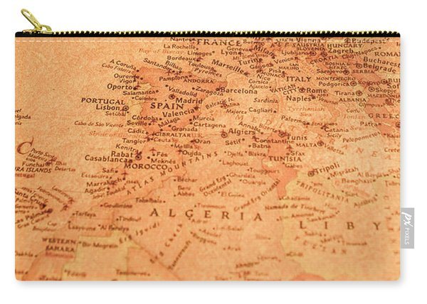 Old Maritime Map Carry-all Pouch