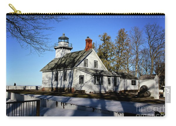 Old Mission Lighthouse Carry-all Pouch