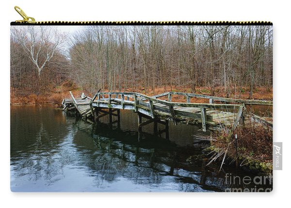 Old Mule Bridge In Fall Carry-all Pouch