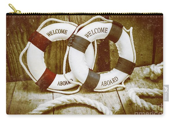 Old Nautical Art Carry-all Pouch