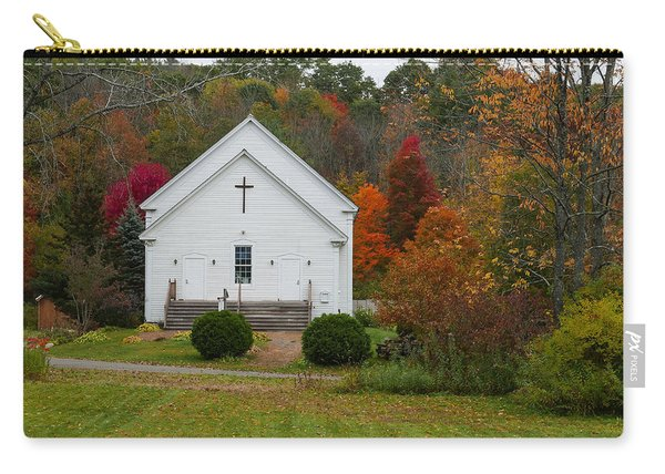 Old New England Church Carry-all Pouch
