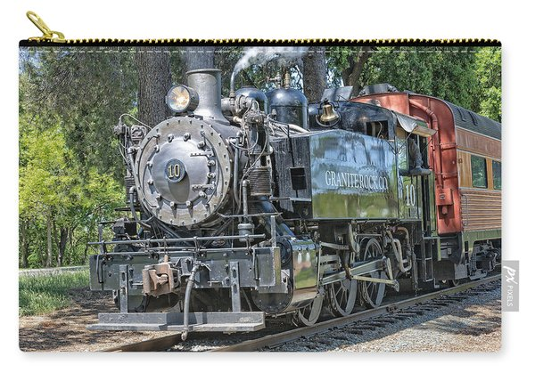 Carry-all Pouch featuring the photograph Old Number 10 by Jim Thompson