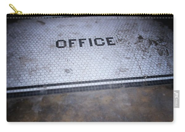 Old Office- Urban Photography By Linda Woods Carry-all Pouch