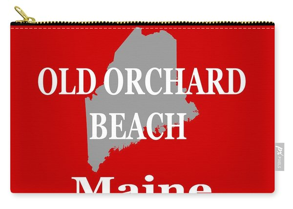 Old Orchard Beach Maine State City And Town Pride  Carry-all Pouch
