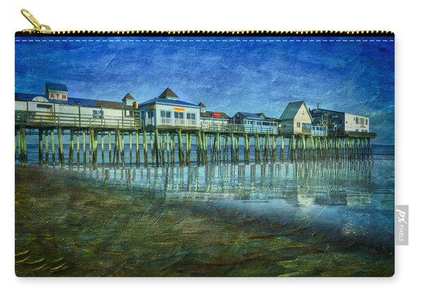 Old Orchard Beach Pier  Oob Carry-all Pouch