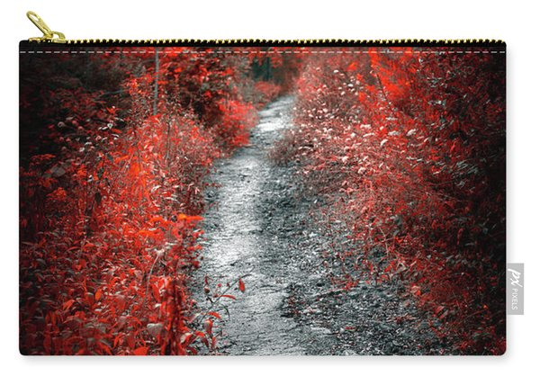 Old Path In Red Forest Carry-all Pouch