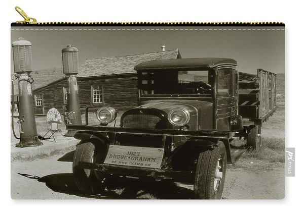 Old Pickup Truck 1927 - Vintage Photo Art Print Carry-all Pouch