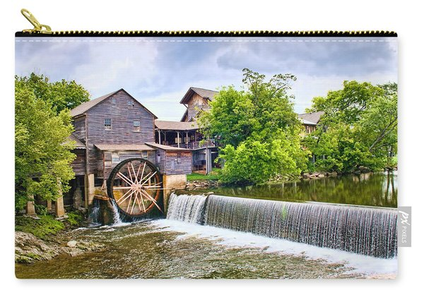 Old Pigeon Forge Mill Carry-all Pouch