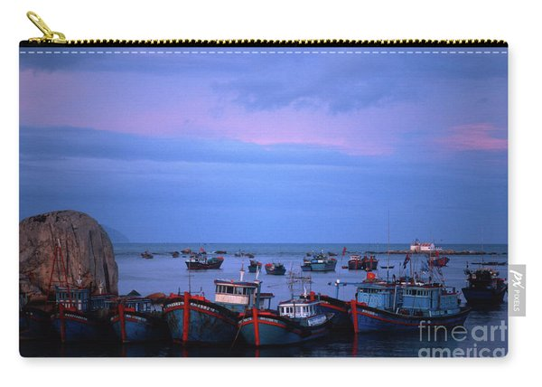 Old Port Of Nha Trang In Vietnam Carry-all Pouch