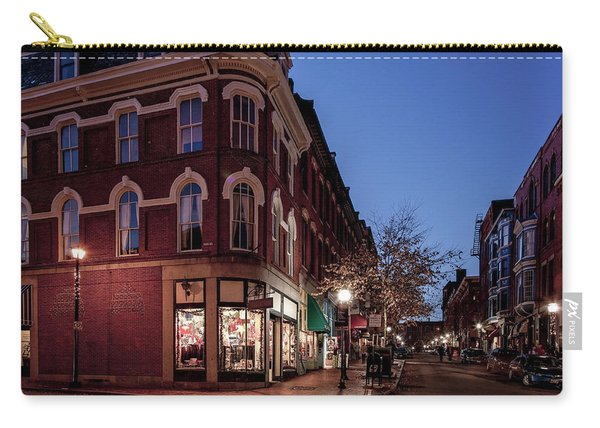 Old Port, Portland Maine Carry-all Pouch