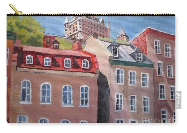 Old Quebec City Carry-all Pouch