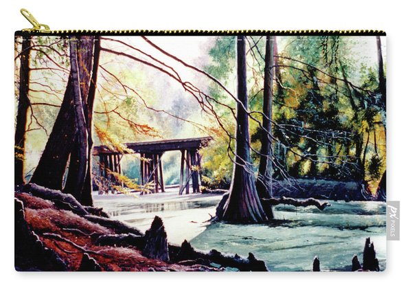 Old Railroad Bridge Carry-all Pouch