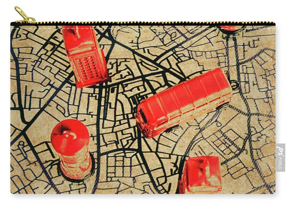 Old Routemaster Way Carry-all Pouch