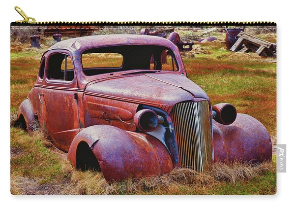 Old Rusty Car Bodie Ghost Town Carry-all Pouch