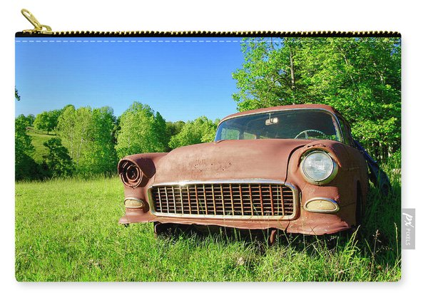 Old Rusty Car Carry-all Pouch