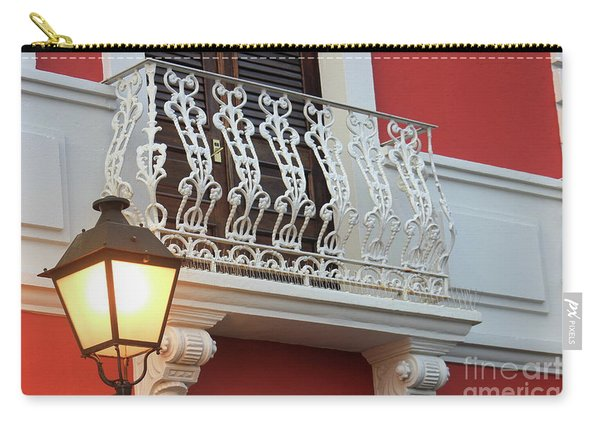 Old San Juan Balcony Carry-all Pouch
