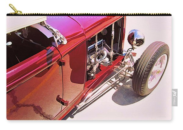 Old School Roadster Title Carry-all Pouch