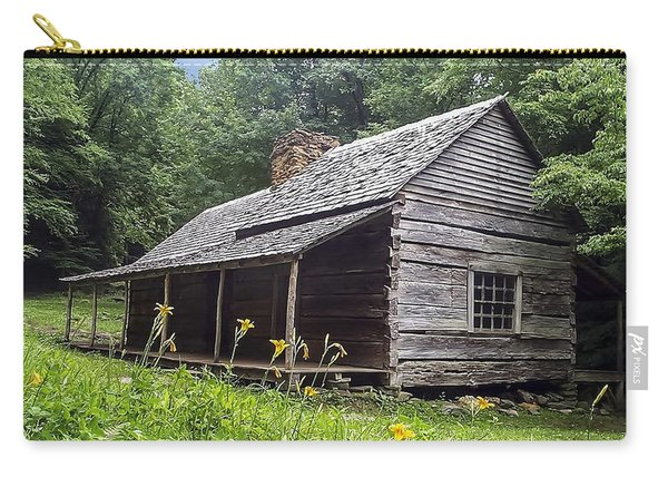 Old Settlers Cabin Smoky Mountains National Park Carry-all Pouch