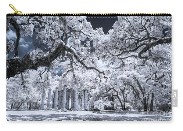 Old Sheldon Church In Infrared Carry-all Pouch