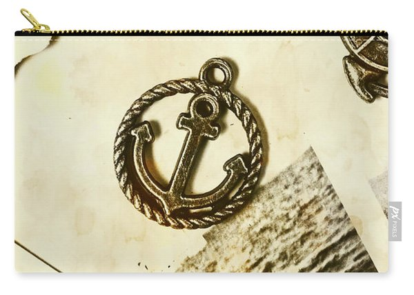 Old Shipping Emblem Carry-all Pouch