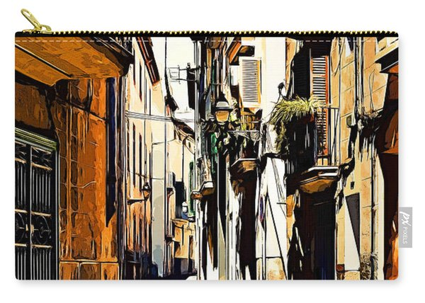 Old Spanish Street Carry-all Pouch