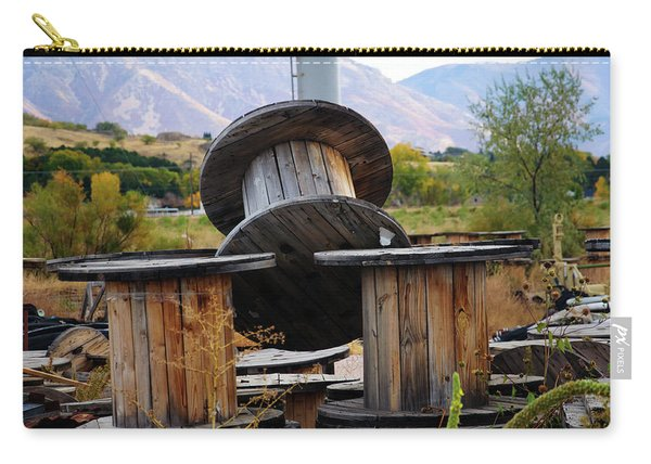 Old Spool Carry-all Pouch