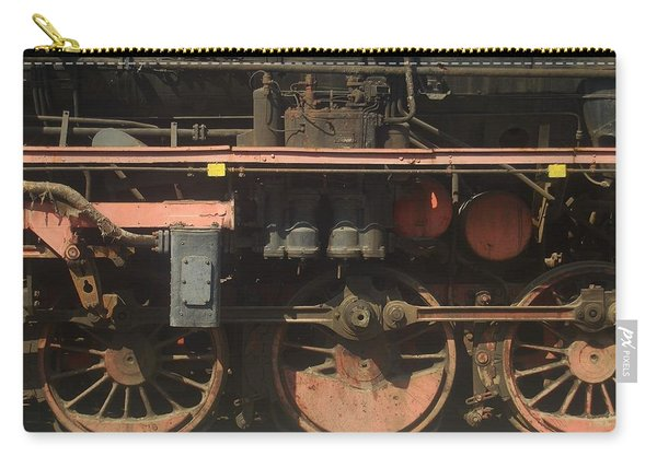 Old  Steam Train ...france Carry-all Pouch