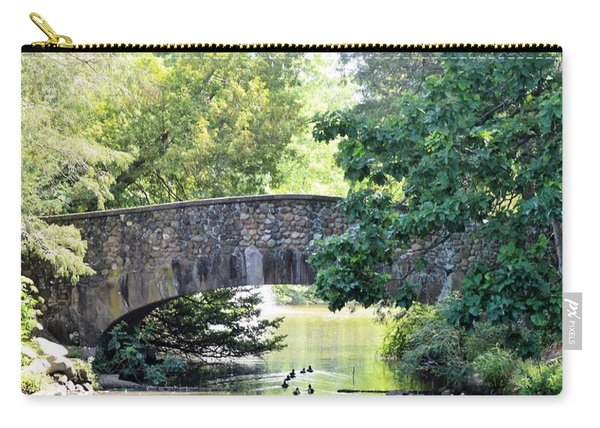 Old Stone Walkway Carry-all Pouch