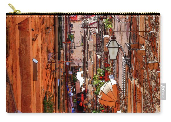 Old Town Dubrovniks Inner Passages Carry-all Pouch