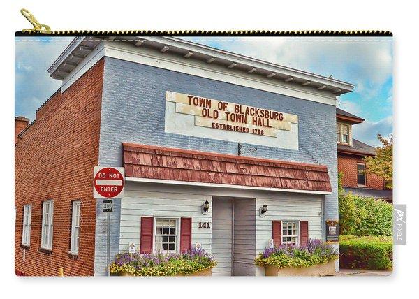 Old Town Hall Blacksburg Virginia Est 1798 Carry-all Pouch