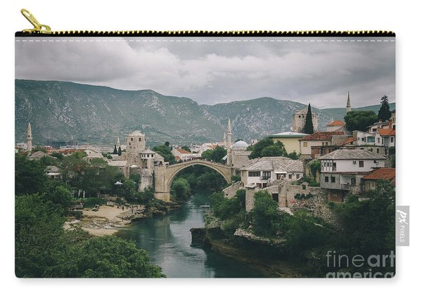 Old Town Of Mostar Carry-all Pouch