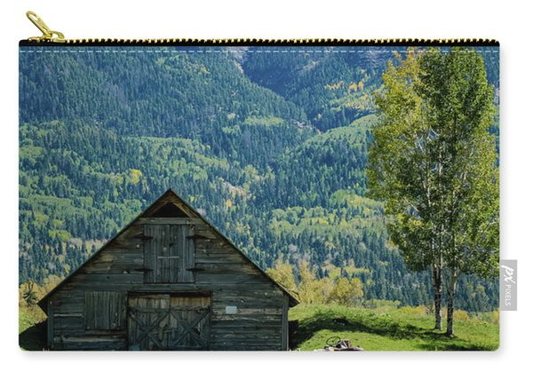 Carry-all Pouch featuring the photograph Old Tractor by Jason Coward
