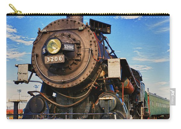 Old Train Carry-all Pouch