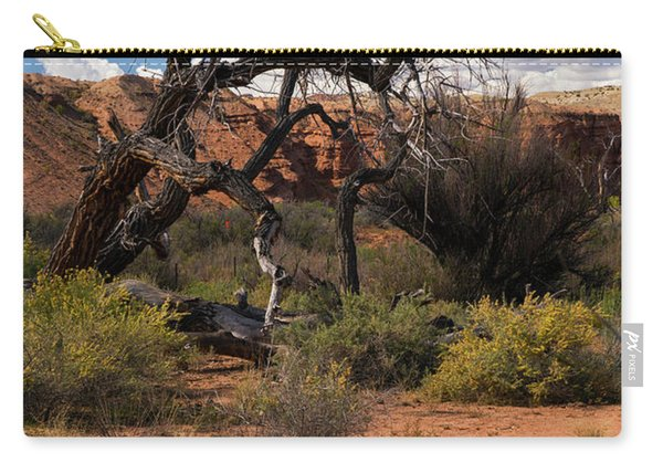 Old Tree In Capital Reef National Park Carry-all Pouch