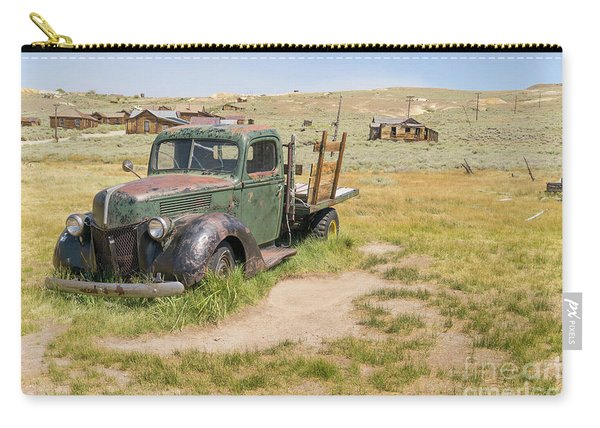Old Truck At The Ghost Town Of Bodie California Dsc4404 Carry-all Pouch