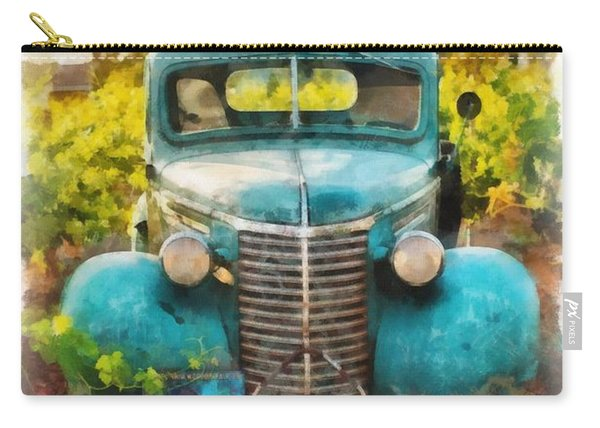 Old Truck At The Winery Carry-all Pouch