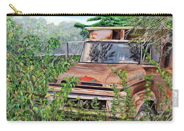 Old Truck Rusting Carry-all Pouch
