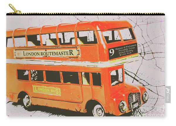 Old United Kingdom Travel Scene Carry-all Pouch