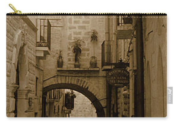 Old Village Street Carry-all Pouch