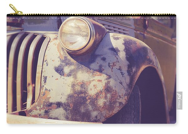 Old Vintage Pickup Truck Utah Square Carry-all Pouch