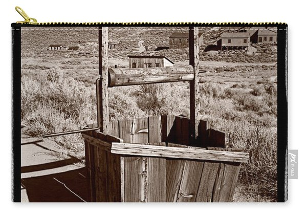 Old Well Bodie Ghost Twon California Carry-all Pouch