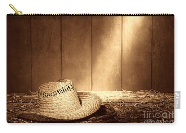 Old West Farmer Hat Carry-all Pouch