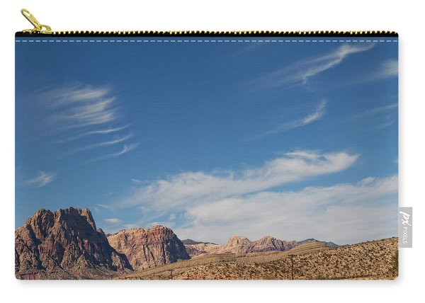 Old West Poles Carry-all Pouch
